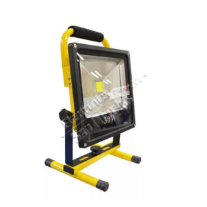 REFLECTOR LED BLANCO RECARGABLE 30W